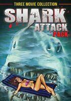 Shark Attack Pack (Triple Feature) [DVD] [Region 1] [NTSC] [DVD][Region 2]