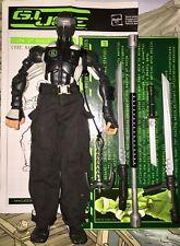 2005 Sigma 6 Ninja Showdown Snake Eyes v2 Commando 100% COMPLTE GI Joe FILE CARD