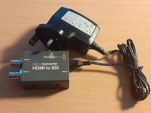 BLACKMAGIC DESIGN MICRO CONVERTER HDMI TO SDI WITH CHARGER