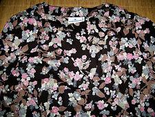 Geblümte klassische Damenblusen, - Tops & -Shirts mit V-Ausschnitt und Blusen