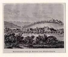 Rotenkirchen-Grubenhagen-Einbeck Holzstich-Görges 1881