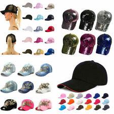 Mens Womens Plain Cap Style Spring Adjustable Baseball Cap Multicolor Hat Unisex