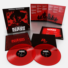 The Music Of Red Dead Redemption 2 Limited Translucent Red 180 Gram 2x Vinyl LP