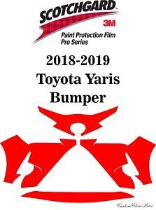 3M Scotchgard Paint Protection Film Pro Series Clear 2018 2019 Toyota Yaris