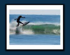 Original Signed Florida Surfing Signed Art Print - Benefits Surfers for Autism