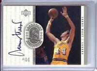 Jerry West 2000 UD Century Legends Legendary Signatures Auto Lakers #JW
