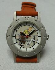 Tintin + Snowy watch ladies/child on the railing red in decor. tin year 2000 #9