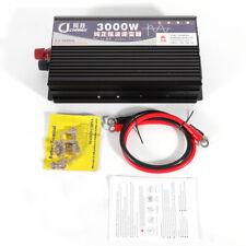 New listing Power Inverter Pure Sine Wave Converter Led Display 12V/24V To Ac 110V 3000W Hot