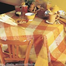 "GARNIER THIEBAUT MILLE COULEURS SOLEIL FRENCH TABLECLOTH 71"" X 71"", NEW"