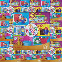 McDonalds Happy Meal Toy 2005 Favourite Childrens TV Hard Plastic Toys - Various