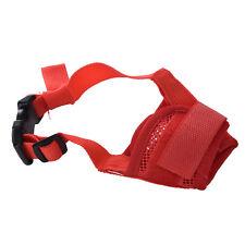 Dog Safety Muzzle Muzzel Adjustable Biting Barking Chewing Small Medium Large MW