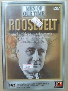 Men Of Our Time - Roosevelt [ Multi Region DVD ] FREE Next Day Post from NSW