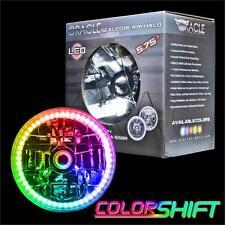 "ORACLE 5.75"" Sealed Beam Single Headlight+ORACLE Installed ColorSHIFT SMD Halo"