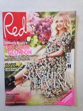 """"""" RED"""" WOMANS FASHION LIFE STYLE MAGAZINE AUGUST 2015 FEARNE COTTON FRONT COVER"""