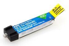 E-flite 150mAh 1S 3.7V 45C LiPo Pack : BLADE NCPX NANO QX MSRX PARKZONE NANO CPX