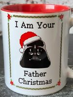 Star Wars Christmas Darth Vader Funny Red Gift Mug Cup For Him Men's Gift Idea