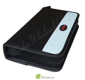 56 Disc Portable CD DVD Wallet Holder Bag Case Album Organizer for Media Storage