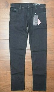 Armani Exchange A|X J14 Men's Skinny Fit Stretch Cotton Charcoal Denim Jeans 34R