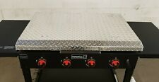 Nexgrill 4-Burner Propane Gas Grill griddle Hard Cover Aluminum Usa Made 36 dp