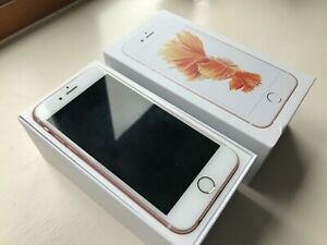 Apple iPhone S 16GB Rose Gold locked to EE used in great condition original box