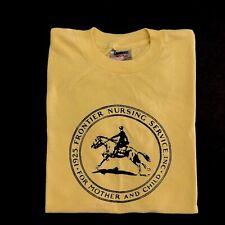 Vintage 90s T Shirt Single Stitch S/M Soft Thin 1925 Frontier Nursing Service