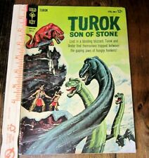 Turok Son of Stone Dinosaur comic book-Gold Key No. 38 March of 1964