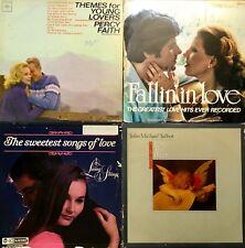 VINYL Lot 9 Albums of Love Songs Wedding Easy Listening