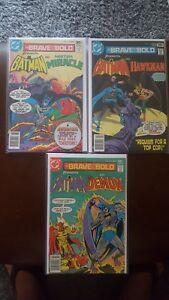 Brave and the Bold 137,138,139  * 3 Book Lot * DC Comics Batman Demon ALL VF-