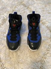 Air Jordan Melo M9 Size 5Y Boys Size 7 Women's Brand New Black and Blue