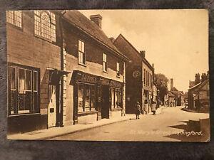 St Mary's Street, Wallingford. Printed Postcard
