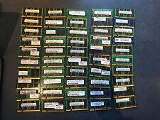 1GB PC2-5300S Ram Memory Modules Mixed Lot of 50
