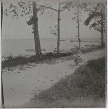Promenade au vélo Viêt Nam ? Photo Plaque de verre Stereo L22 Vintage