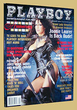 Playboy Magazine January 2002-D Joanie Laurer, Dan Patrick, Gene Simmons