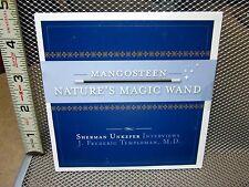 PURPLE MANGOSTEEN juice interviews CD antioxidants J Frederick Templeton