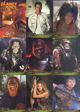Planet Of The Apes Movie 2001 Topps Complete Base Card Set Of 90