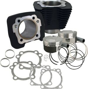 S&S Cycle 1250cc Conversion Kit - Compression 11.2:1 - Silver 910-0446
