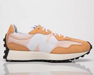 New Balance 327 Women's Orange White Lifestyle Shoes Casual Athletic Sneakers