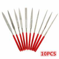 10pcs Needles File Set Jeweler Diamond Wood Carving Craft Metal Glass Stone Tool