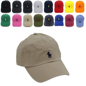 Classic Polo RL Embroidered Small Pony Baseball Cap 100% Cotton 22 Colors Gift