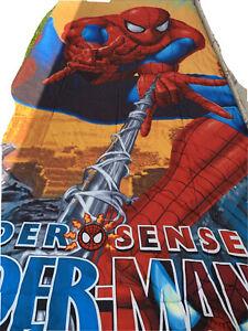 Marvel Spider Sense Spider Man Kids Comforter Size Twin Multicolor F14
