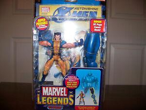 Marvel Legends Apocalypse Series Wolverine Unmasked Variant MIMP