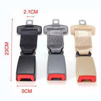 9'' Car Seat Seatbelt Universal Adjustable Safety Belt Extender Extension Buckle