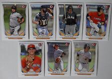 2014 Bowman Draft Miami Marlins Team Set 8 Baseball Cards