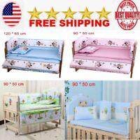 Baby Bedding Set Crib for Boy Girl Sets Nursery Animated  Newborns 100%Cotton
