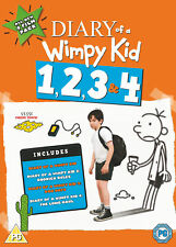 Diary Of A Wimpy Kid 1, 2, 3 & 4 (DVD) Zachary Gordon, Robert Capron