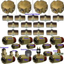 V xfitx Air suspension valve FIT  Everything U need for 8-Brass Valves 1/2