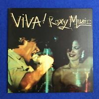 ROXY MUSIC Viva! Roxy Music 1976 UK vinyl LP EXCELLENT CONDITION original A