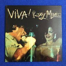 ROXY MUSIC Viva! Roxy Music 1976 UK vinyl LP EXCELLENT CONDITION original A
