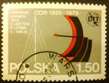 POLAND STAMPS Fi2499 Sc2355 Mi2647 - Internat. Commit. of the Radio, 1979, used
