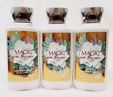 3 Bath & Body Works MAGIC IN THE AIR Body Lotion Cream Moisturizer 8 oz
